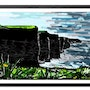 Cliffs of Moher, Ireland, seascape, Landscape, contemporary, wild Atlantic way. Ruth Somers