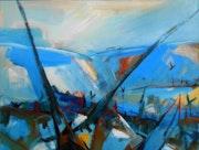 Landscape with boats (1). Sandro Maciel