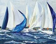 Coup de vent sur la flotte.