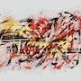 Composition Abstraction Lyrique. Thierry Daudier De Cassini