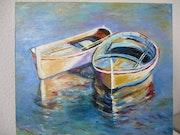 Barques à Cadaques.
