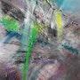 La falaise mouvementée. Anne Prudhomme