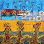 Acrylic fine art painting artist mirit ben-nun israel. Artist Painter Israeli Art