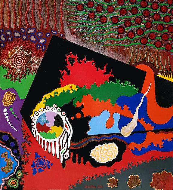 Composición abstracta - 3. Alberto Sciortino Sciortino