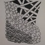 Zentangle 1. Julie Andrieu