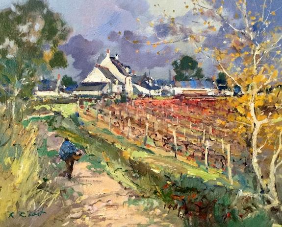 Petit hameau à Rochefort-sur-Loire. Robert Ricart R Ricart
