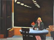 D'apres Edward Hopper.