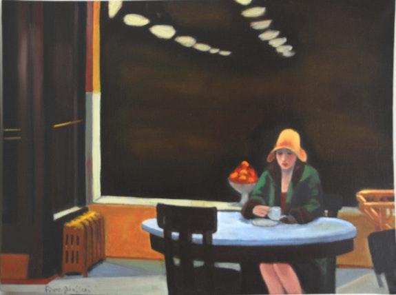 D'apres Edward Hopper. Cesar Luciano Cesar Luciano