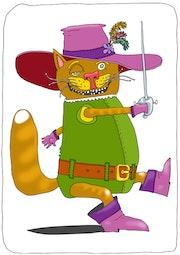 Le Maître chat ou le chat botté. Valeriu Buev