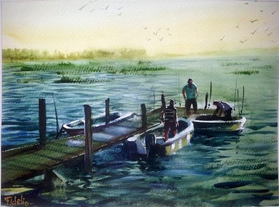 A la pesca. Alejandro Fidelio Alejandro Fidelio