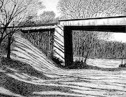 Rairoad Bridge, Lawson, Missouri. Rich Berry