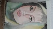 Portrait aquarelle.