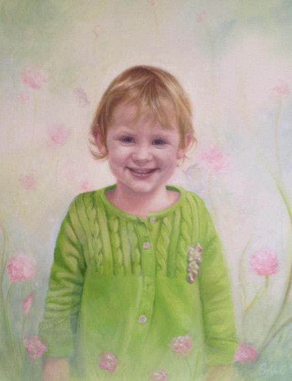 Portrait d'Aurore. Chieu Sylvia La Souris Verte