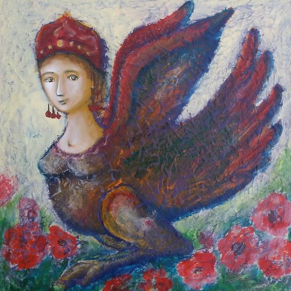 Femme oiseau. Maria Baliassova Maria Baliassova