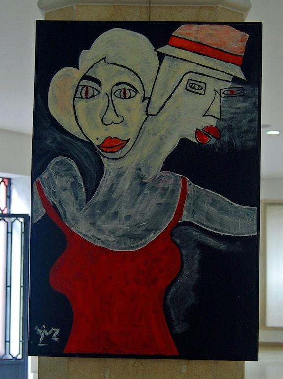 Les danseurs.  Claudine Leroy