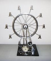 << La roue… Tine >>. Artsolite Créations
