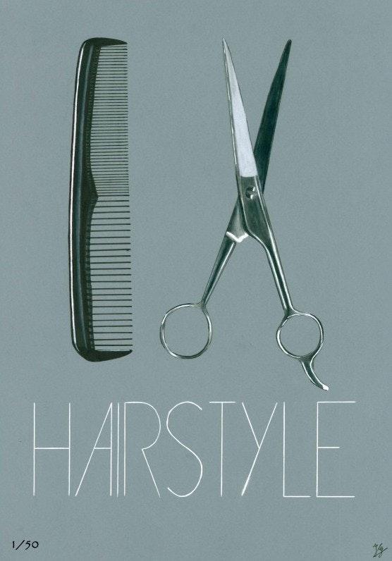 Hairstyle. Ivan Gassam Ig Draw