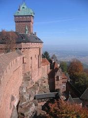 Magnifique château du Haut-Keonigsbourg. Jma