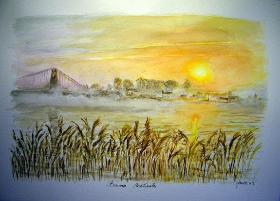 Brumes matinales. Jacques Dortel Jacques Dortel