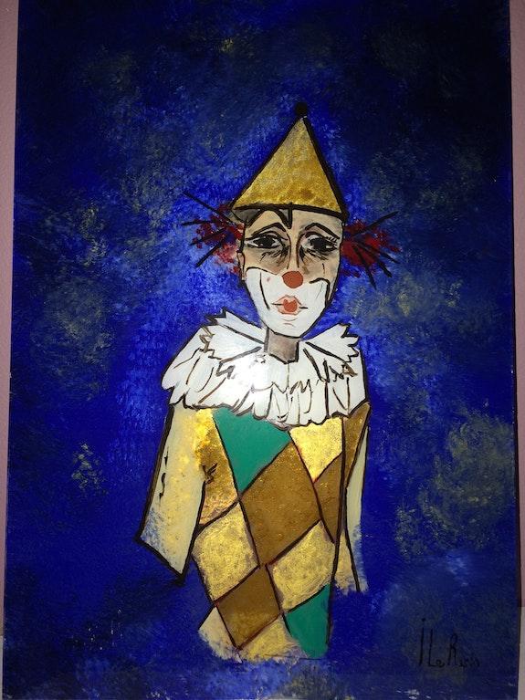 Le blues du clown. Isabelle Rech Le Recis Isabelle Rech Le Recis