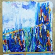 Chartres «in vitraux». Françoise Parmentier