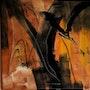 Hommage : «L'aigle noir» 2015. Michèle Guillot