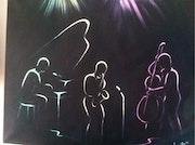 L'orchestre de Jazz. Jacques Berté