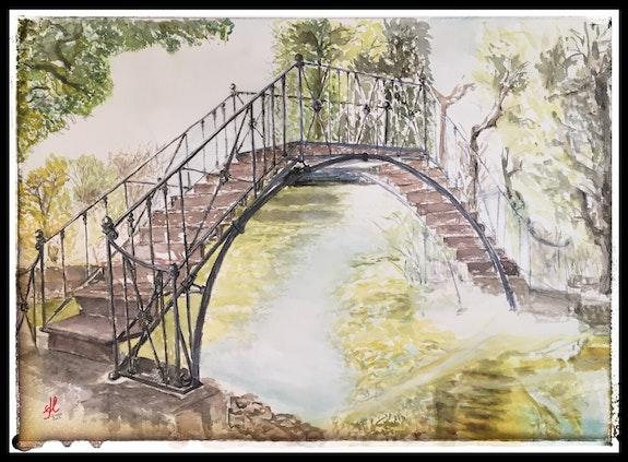 Puente de hierro. El capricho. Del Cano Del Cano