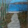 Le chemin. Bernard Stéphanie