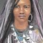 Femme touareg. Joelle Bouriel
