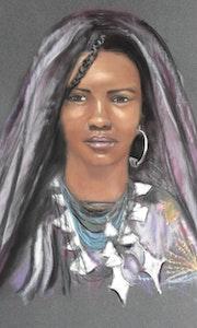 Femme touareg.