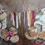 Chapeaux et dentelles. Edith Driffort