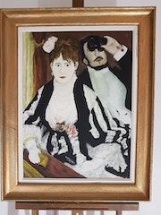 Auguste renoir. «La Loge». Raymond Franchetti