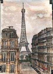 Torre Eiffel. Del Cano