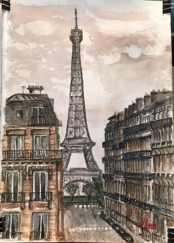 Torre Eiffel. Del Cano Del Cano
