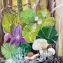Les violettes et les champignons. Relindis