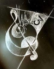 Étude logo 3 pour asso musicale. Savoir Être Heureux En Ce Monde Ci