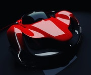 Concept hypercar. Jeremy Biraud
