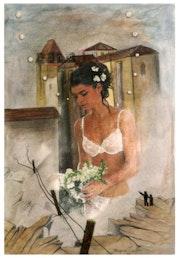 La mariée de Paunat. Jacques Teulet