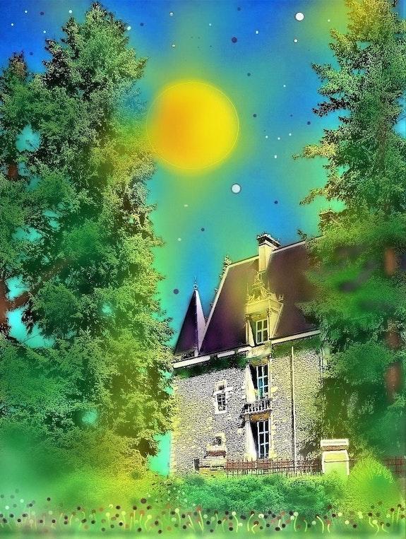 Le château de Courtalain.. G. Ardelâme G; Ardelâme