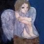 Un ange bleu. Anne. B