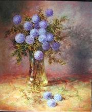 Bouquet de chardons.