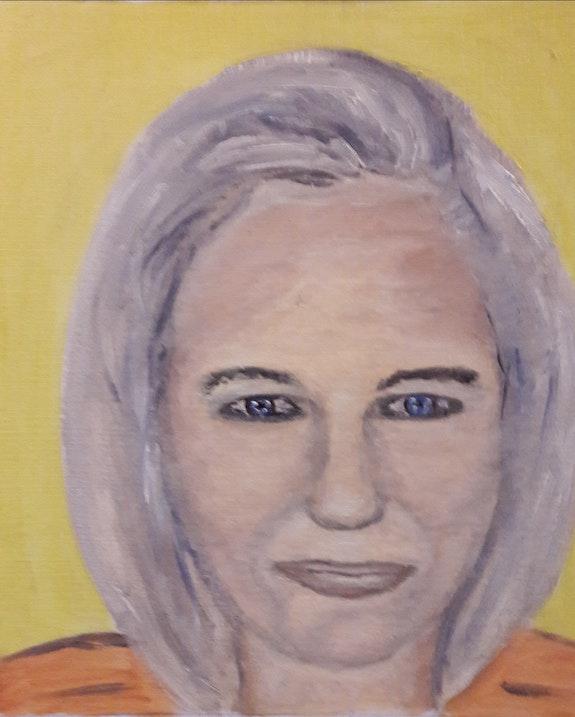 Portrait Étude 2. Stéphanie Bernard Bernard Stéphanie