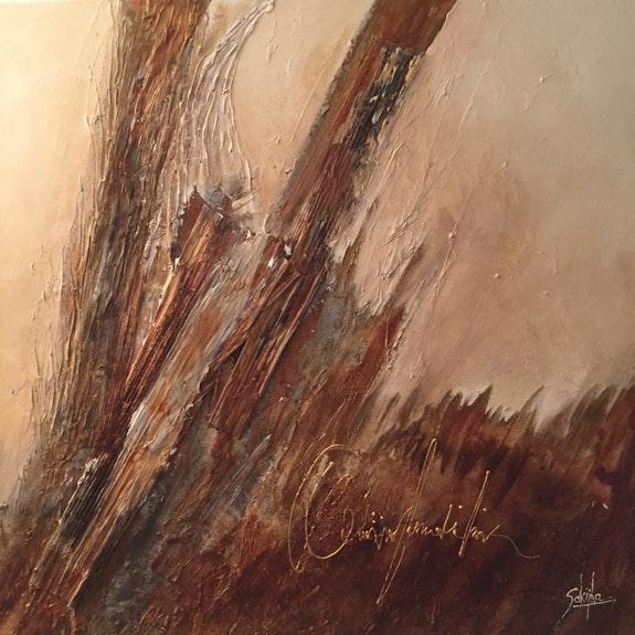 Divers peintures pastel sec et powertex. M. Sakijha Sakijha