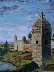 Brouage ancienne cité du sel en Charente Maritime.