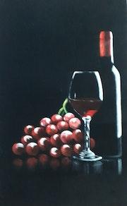 Rotwein.