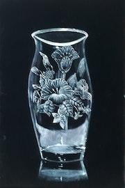 Blumen Vase. Malaver