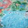 Déesse de la mer. Marie-Rose Atchama