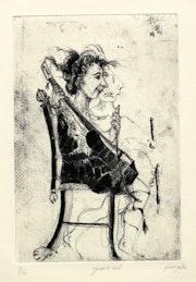 Joueur de viole. Gérard Jullien