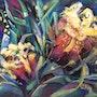 Iris de jardin. (Irises of My garden). Michèle Padoy